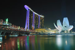 Marina Bay : Urban Landscape Stock Photography