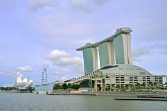 Marina Bay : Urban Landscape Royalty Free Stock Image