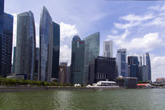 Marina Bay View Fotos de Stock