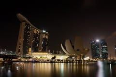 Marina Bay view Stock Photography