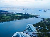 Marina bay Stock Images