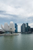 Marina Bay Waterfront, Singapore Stock Photography