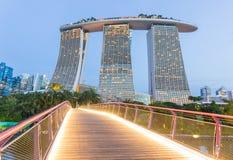 Marina Bays Sands, Singapur Lizenzfreie Stockfotografie