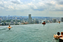 Marina BaySands SkyPark Royalty Free Stock Photo