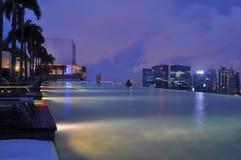 Marina baySands skyPark fotografia royalty free