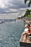 Marina BaySands SkyPark fotografie stock