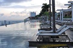 Marina BaySands SkyPark Fotografia de Stock Royalty Free