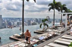 Marina BaySands SkyPark Royalty Free Stock Photos