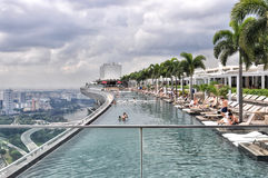 Marina BaySands SkyPark Stock Photo