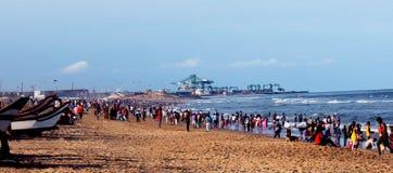 Marina Beach royalty free stock photos