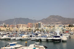Marina in Benalmadena, Spain Stock Images