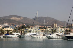 Marina of Benalmadena, Spain Stock Photo