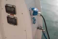 Marina benzynowa stacja zdjęcie royalty free