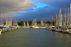 Marina Berkeley California Royaltyfri Bild