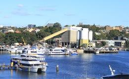 Marina at the Blackwattle Bay, Sydney Stock Photos