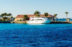 Marina boat Royalty Free Stock Photo