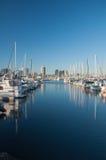 Marina Boats Royaltyfria Bilder