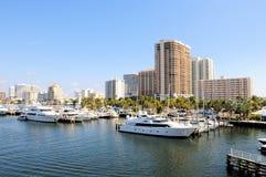 Marina, boats, Florida Royalty Free Stock Photos