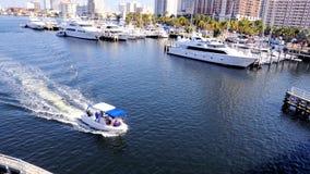 Marina, boats in Florida Royalty Free Stock Image