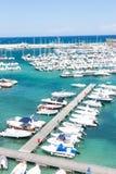 Marina with boats Royalty Free Stock Image