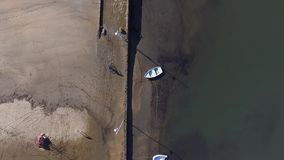 Marina boats in Paraty - Rio de Janeiro - Brazil stock video