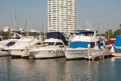 Marina Boats At pattaya Royalty Free Stock Photo