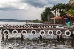 Marina in Brasilia Stock Photo