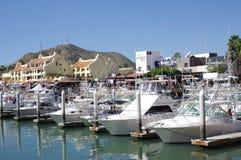 Marina in Cabo San Lucas, Mexico Stock Photo