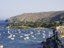 Marina from Cadaques. Nothern Spain Royalty Free Stock Photo