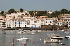 The marina of Cadaques Costa Brava Stock Photography