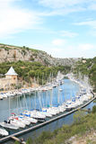 Marina of the Calanque of  Port-Miou Stock Photo