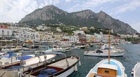 Marina Capri grande foto de stock royalty free