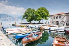 Marina Cassone przy Jeziornym Gardą Zdjęcia Royalty Free