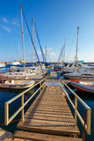 Marina in Chania on Crete, Greece Royalty Free Stock Photo