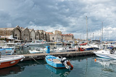 Marina at Chania Stock Photography