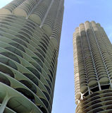Marina City Chicago Illinois USA Stock Images
