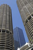 Marina City Complex Stockfotos