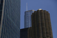 The Marina City Complex Stock Photography