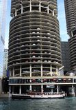 Marina City Condominium Complex in Chicago royalty-vrije stock afbeeldingen