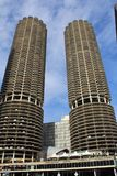 Marina City Condominiums Complex Chicago photographie stock