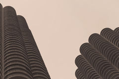 Marina City-de bouw in Chicago Royalty-vrije Stock Fotografie
