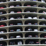 Marina city parking Royalty Free Stock Photography