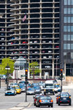 Marina city parking levels detail Royalty Free Stock Image