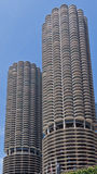 Marina City Towers Chicago Royalty Free Stock Images