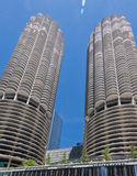 Marina City Towers Chicago Stock Photos