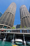 Marina City Towers Chicago Royalty Free Stock Photography