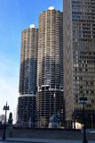 Marina City Towers Royalty Free Stock Photos