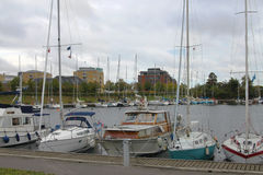 Marina in Copenhagen, Denmark Stock Photos