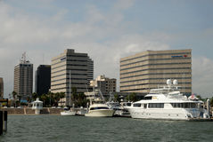 Marina in Corpus Christi, Texas Royalty Free Stock Photography