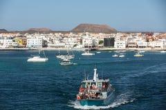 Marina in Corralejo Stock Images